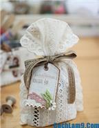 Hướng dẫn cách làm túi thơm mùi café cực xinh xắn