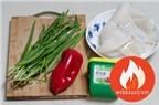 Hướng Dẫn Cách Nấu Món Mực Xào Hẹ Ngon