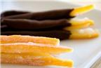 Khám phá cách làm mứt vỏ cam nhúng socola thật ngon