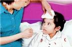 Làm gì khi bé thường xuyên bị ốm vặt như: ho, sổ mũi?