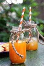 Làm nước cam mật ong bổ dưỡng