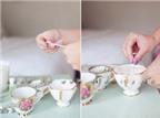 Làm sao để biến tách trà cũ thành tách đựng nến tuyệt đẹp
