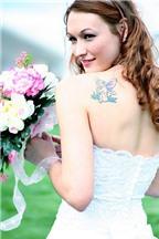 Làm sao để che hình xăm trong ngày cưới?