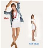 Làm sao để tạo trang phục cũ thành phong cách mới ?