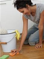 Làm sao để vệ sinh sàn gỗ thật sạch