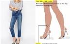 Mách bạn cách chọn quần ống lửng phù hợp với từng dáng chân