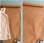 Mách mẹ cách may váy liền cho bé với hai mặt
