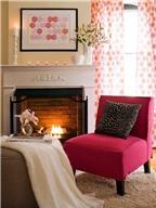 Màu hồng cho không gian sống lãng mạn