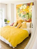 Màu sắc phòng ngủ tốt cho người mệnh Thổ