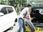Mẹo chống mất trộm lốp ôtô