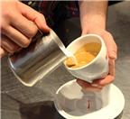 Mẹo tạo hình trái tim cho ly cafe cực dễ