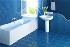 Mẹo vệ sinh hay giúp phòng tắm sạch từng ngày