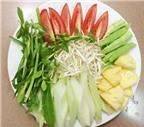 Nấu canh chua mực thanh mát cho bữa trưa oi nắng