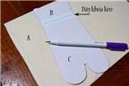 Nghỉ hè học cách làm hộp bút chuẩn bị cho năm học mới