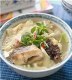 Ngon cơm với cách làm món canh cá nấu măng