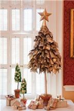 Những cách làm cây thông Noel cực kì độc