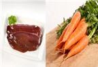 Những loại rau củ không nên kết hợp với gan lợn