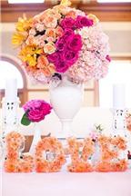 Những mẫu hoa bàn tiệc cầu kỳ tuyệt đẹp