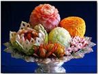 Những mẫu trang trí món ăn hấp dẫn cho Tết