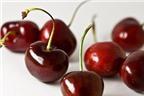 Quả cherry giúp ngăn ngừa bệnh gút