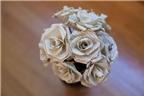 Rảnh tay học 4 cách làm hoa bằng giấy đơn giản hơn 'đan rổ'