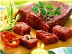 Sai lầm cần tránh khi ăn thịt bò