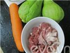 Su su cà rốt xào thịt - món xào ngon cho bữa cơm gia đình