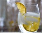 Tác dụng kì diệu của nước chanh