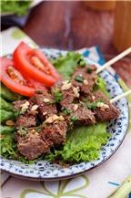 Thịt bò nướng sả thơm lừng hấp dẫn