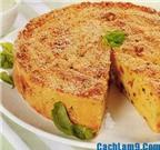 Thơm ngon độc đáo với cách làm bánh gato khoai tây