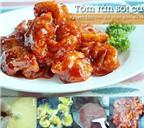 Thực đơn cơm tối toàn những món hải sản ngon ngất ngây