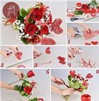 Tìm hiểu 3 cách bó hoa đẹp tặng mẹ không khó