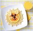 Trang trí món ăn siêu dễ thương cho bé