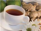 """""""Trị"""" ốm nghén với trà gừng vỏ quýt"""
