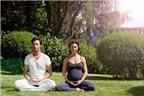 Yoga giúp giảm đau khi sinh nở