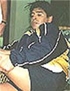 Maradona tập luyện để giảm cân tại Colombia