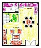 Giải pháp cho nhà hình hộp vuông
