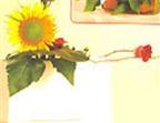 Cắm hoa theo chủ để ánh dương