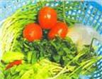Để ít hao vitamin C trong rau