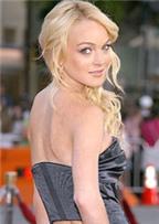 Lindsay Lohan kiệt sức trong phòng tập thể dục