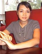 Linh Dung không quen với sự nổi tiếng