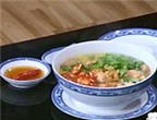 Canh chua thơm nấu tép