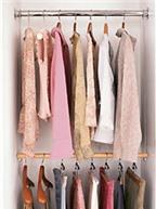 Mẹo sắp xếp tủ quần áo tiện lợi