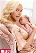 Christina Aguilera kể nỗi sợ lúc sinh con