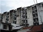Nhiều chung cư cũ có nguy cơ tự sập
