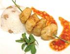 Món ngon: Gà nướng cà ri