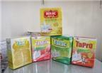 Đóng gói sữa nhiễm melamine để bán