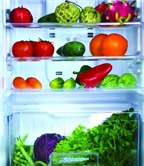 Giữ rau quả bằng tủ lạnh