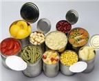 Thực phẩm tươi sống tốt hơn đồ hộp?