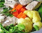 Món ngon: Đậu ngọt nấu canh thịt nạc